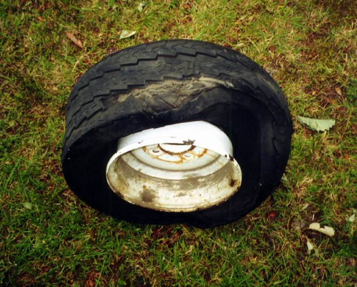 blown tire 1